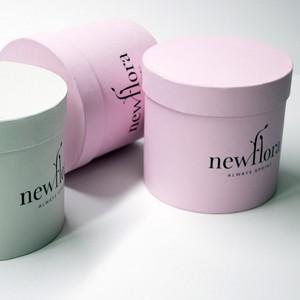 Шляпные коробки для цветов оптом